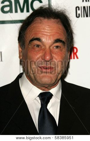 Oliver Stone at the 21st Annual American Cinematheque Award Honoring George Clooney. Beverly Hilton Hotel, Beverly Hills, CA. 10-13-06