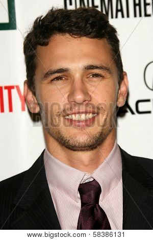 James Franco at the 21st Annual American Cinematheque Award Honoring George Clooney. Beverly Hilton Hotel, Beverly Hills, CA. 10-13-06