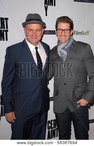 Mike O'Malley, Matthew Morrison at the