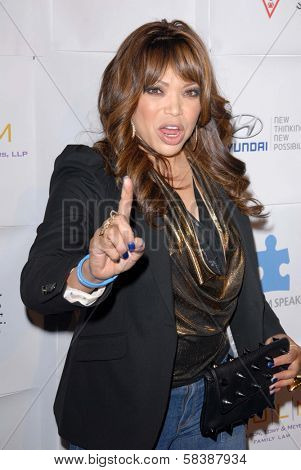 Tisha Campbell-Martin at the Blue Tie Blue Jean Ball, presented by Austism Speaks, Beverly Hilton, Beverly Hills, CA 11-29-12