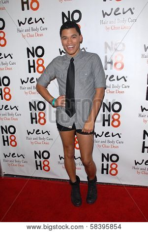 Daniel Joseph Baker at the NOH8 Campaign 4th Anniversary Celebration, Avalon, Hollywood, 12-12-12
