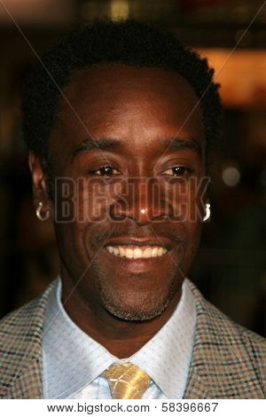 WESTWOOD, CA - NOVEMBER 05: Don Cheadle at a Special Presentation of