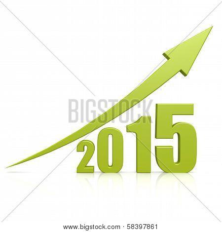 Year 2015 Growth Green Arrow