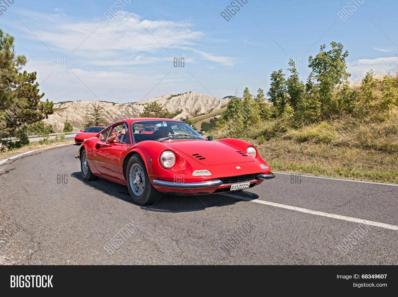 Vintage Ferrari Dino Image Photo Free Trial Bigstock