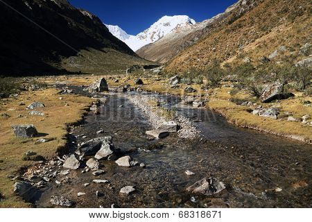 Cohup Valley, Cordiliera Blanca, Peru, South America
