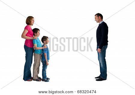 divorce concept family separation