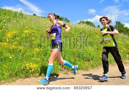 Trail Running Athletes