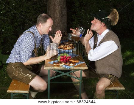 Two Drunk Bavarian Men