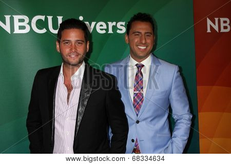 LOS ANGELES - JUL 14:  Josh Flagg, Josh Altman at the NBCUniversal July 2014 TCA at Beverly Hilton on July 14, 2014 in Beverly Hills, CA