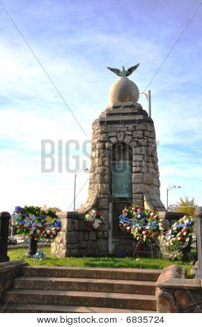 Memorial Monument in Arlington VA.