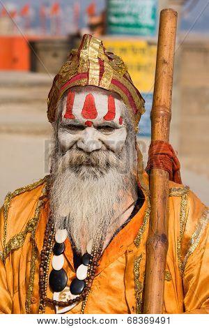 Hindu Holy Man, Sadhu