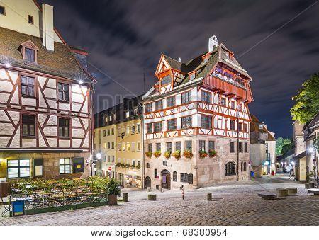 Nuremberg, Germany at Albrecht Durer house.