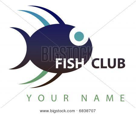 Business logo: Fish club