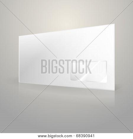 Illustration of white envelope