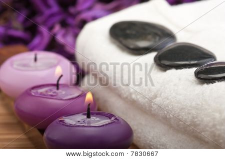 Purple Spa Concept