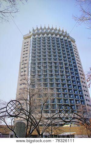 Kazakhstan Hotel In Almaty, Kazakhstan.