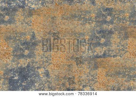 Seamless texture of rust