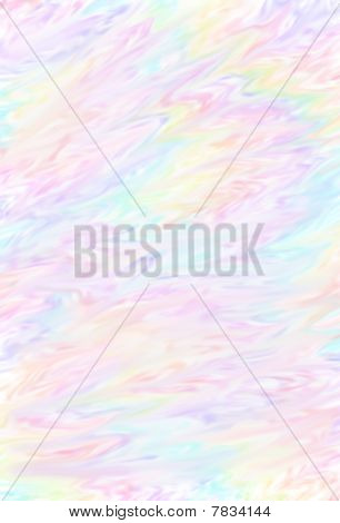 Swirled rainbow multi colored background vector design poster