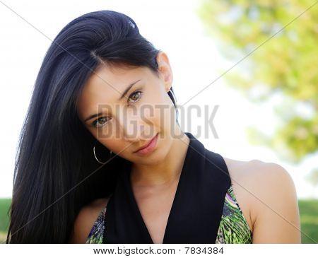 Portrait of a prety woman