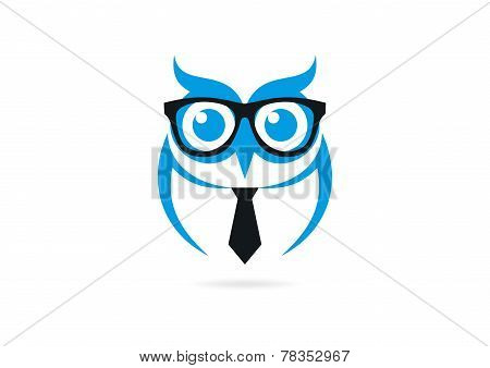 owl vector logo design