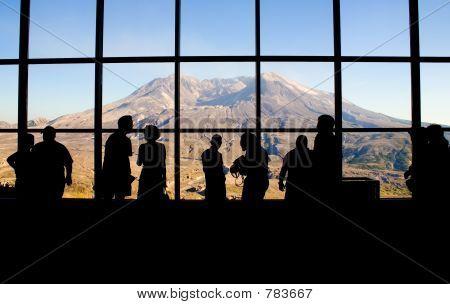 Mt. Saint Helens' Johnston Ridge Observatory