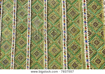 Pattern Mosaic Tile Style Asia