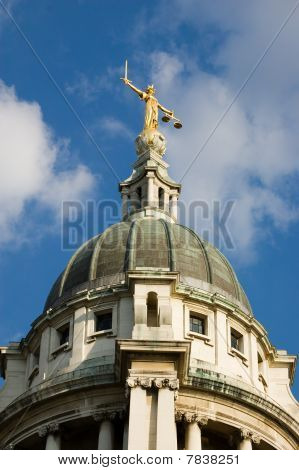 Dome of the Old Bailey