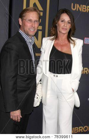 LOS ANGELES - DEC 15:  Bart Conner, Nadia Comaneci at the