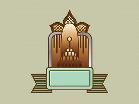 Art Deco Style Banner