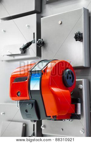 gas burner on combi boiler