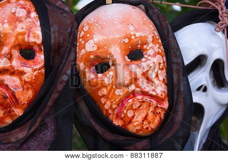 Carnival Masks In Constanza