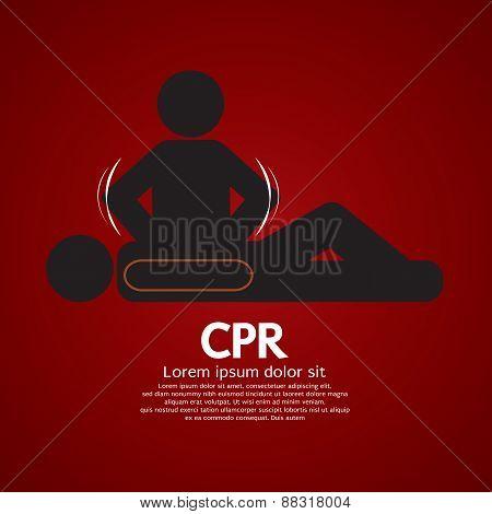 Cpr Or Cardiopulmonary Resuscitation.