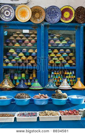 Spices In Local Bazaar