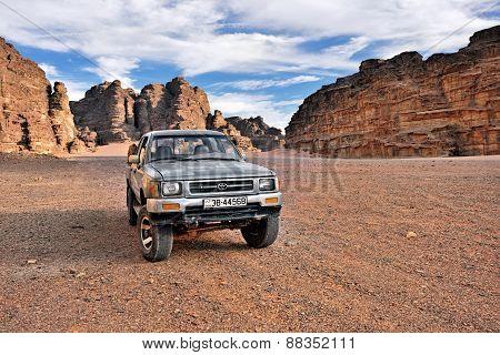 Safari In Jordan