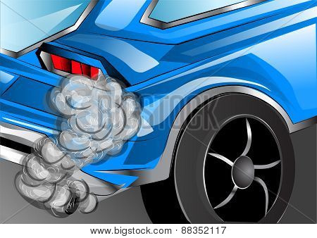 Smoking Exhaust
