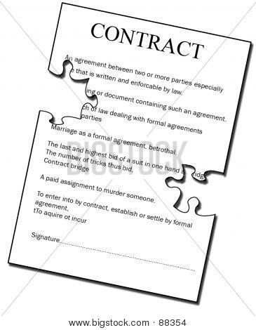 Puzzling Contract
