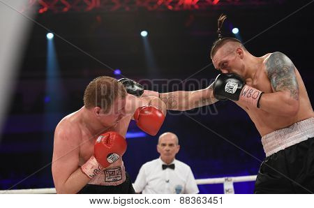 Boxing Fight For Wbo Inter-continental Cruiserweight Title