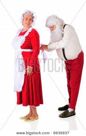 Santa Helping At Home