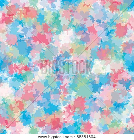 Abstract Artistic Background With Colorful Spots.
