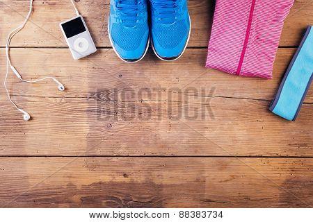 Running stuff on the floor