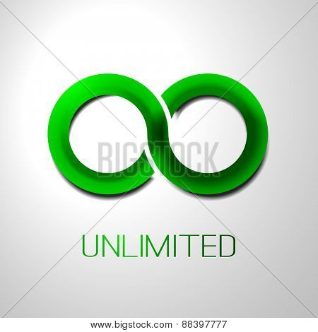 Unlimited Symbol, Icon or Logo Design