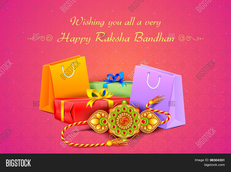 Raksha Bandhan Vector Photo Free Trial Bigstock
