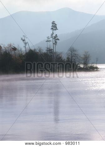Morning Mist  Lake Chatuge