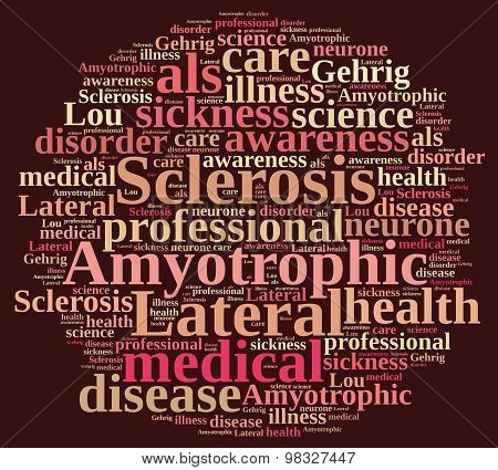 Amyotrophic Lateral Sclerosis.