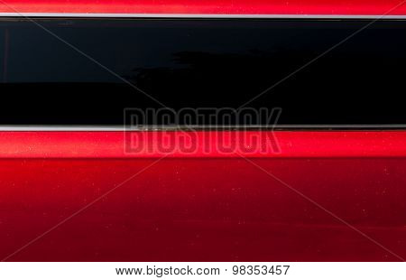 Detail Of The Red Car