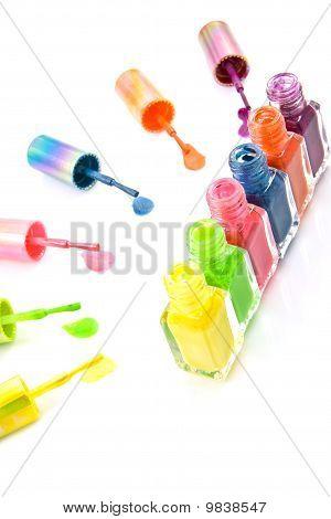 Colorful Nailpoloish