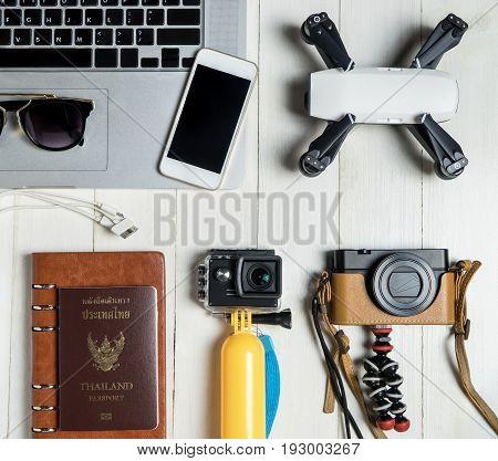 Technology Travel blogger Hi tech gadget and accessories
