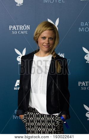 San Diego, CA - July 26, 2014:  Claire Coffee of NBC's Grimm arrives at A&E / Playboy event at Comic Con 2014 in San Diego, CA.
