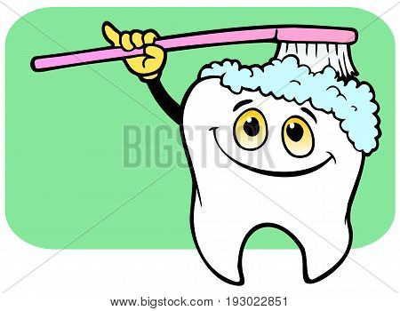 Reminder that brushing your teeth keeps them healthy