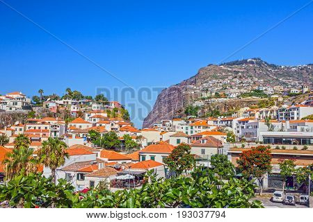 Madeira island, Portugal -may 12, 2017: Fishing village Camara de Lobos